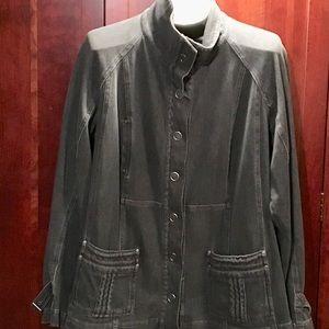 Coldwater Creek Black denim jacket